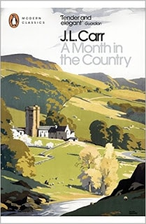 A Month in the Country by J L Carr - book cover
