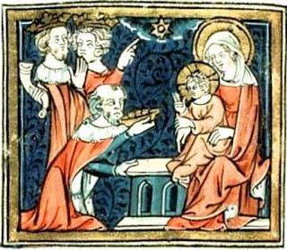 magi adoration mediaeval