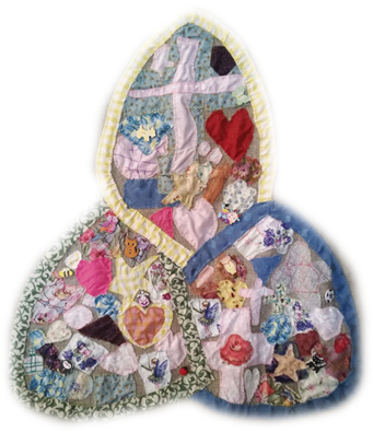 quilted pattern depicting Trinity