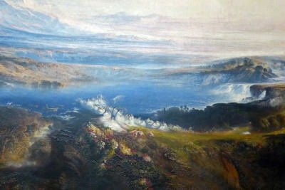 John Martin's The Plains of Heaven