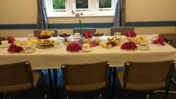 tea party table set to go